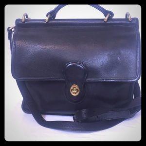 Vintage Coach Leather Willis Bag